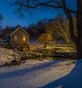 A Winter's Night at Stony Brook Mill
