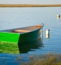 <center>Green Boat