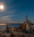 Moonrise at the Beach Shack