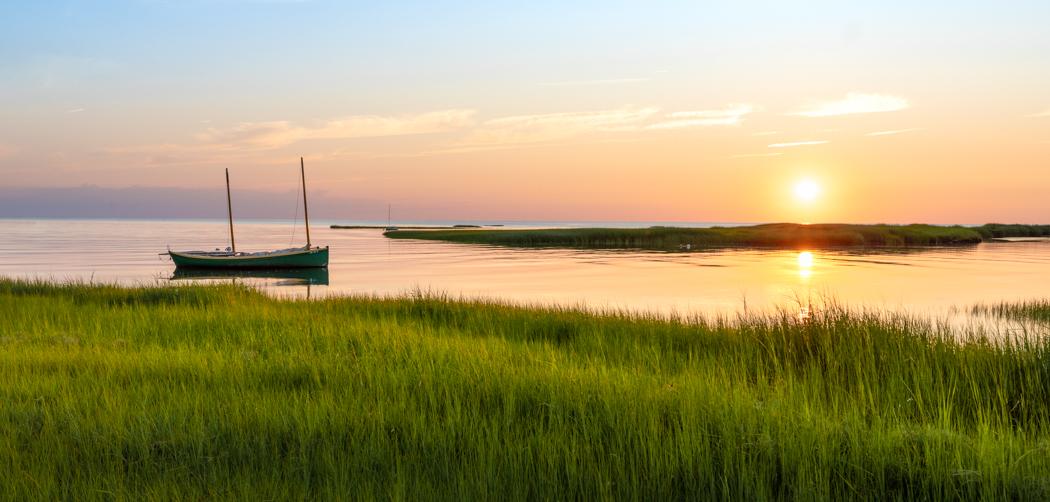 Boat Meadow II by John Tunney