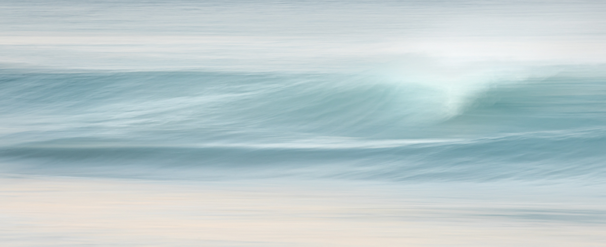Wave Abstract II by John Tunney
